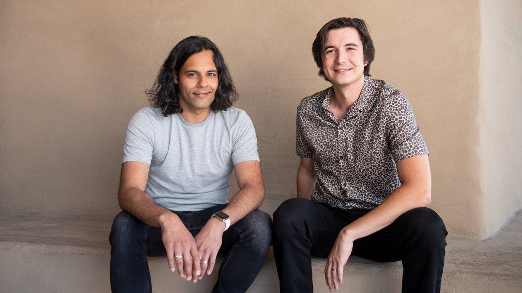 羅賓漢(Robinhood)兩位創辦人巴特(左)與特內夫。(圖/路透)