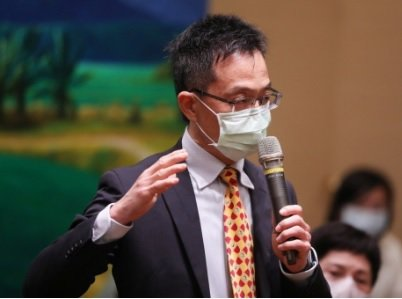 太陽光電系統公會法規主委黃坤元。 翁永全/ 攝影