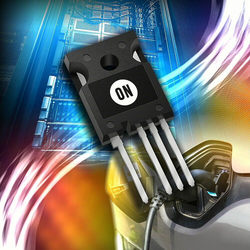 新的SiC MOSFET比同等的矽開關技術顯著提高性能。 安森美半導體/提供