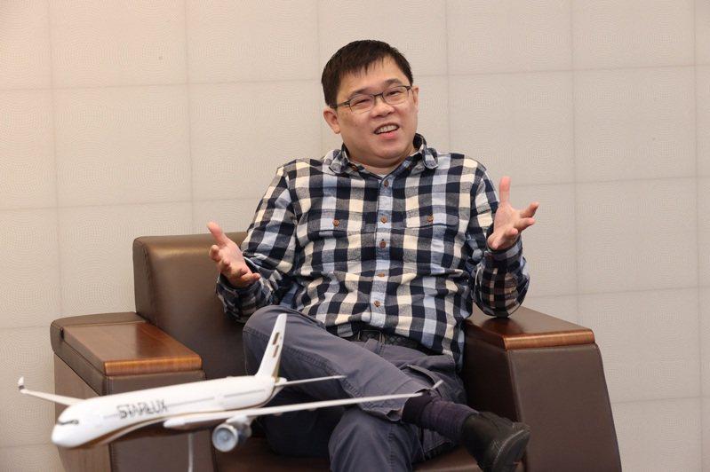 星宇航空董事長張國煒。聯合報系資料照片/記者黃義書攝影