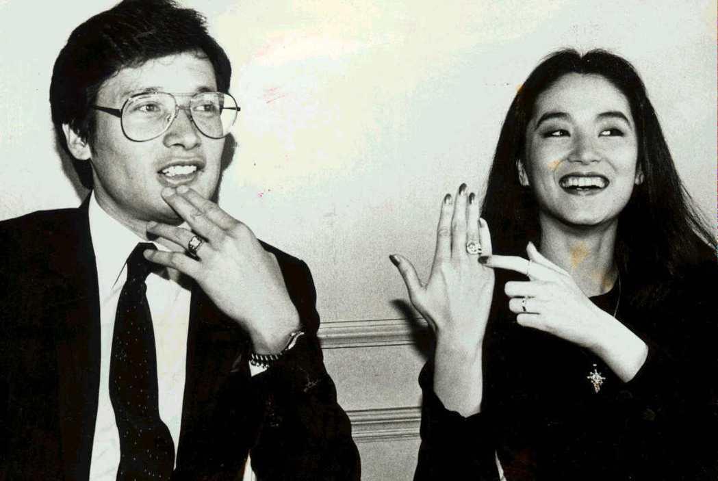 林青霞與秦祥林曾訂婚。圖/報系資料照片