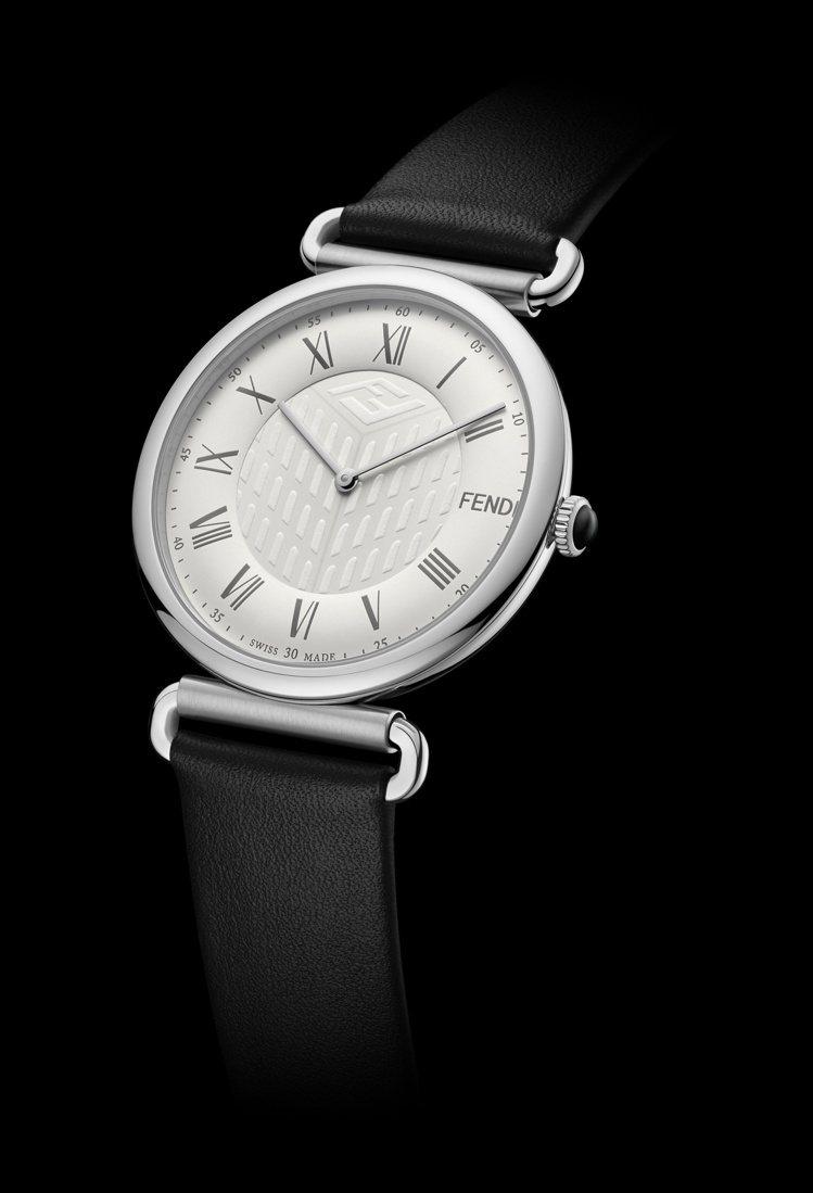 FENDI Timepieces Palazzo系列41毫米腕表,30,200元...