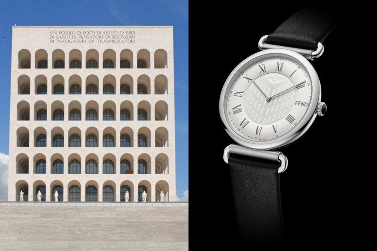 FENDI推出以羅馬總部Palazzo della Civiltà Italia...