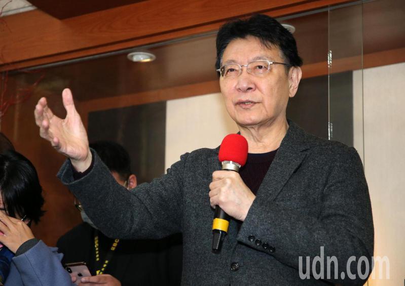 中廣公司董事長趙少康表示NCC要黨政軍退出媒體,應該是黨政軍退出NCC才對。記者胡經周/攝影