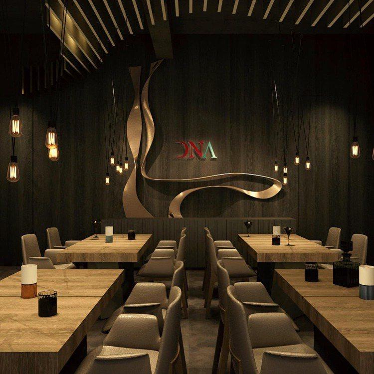 全新DNA Spanish Restaurant內部空間。圖/摘自DNA Spa...