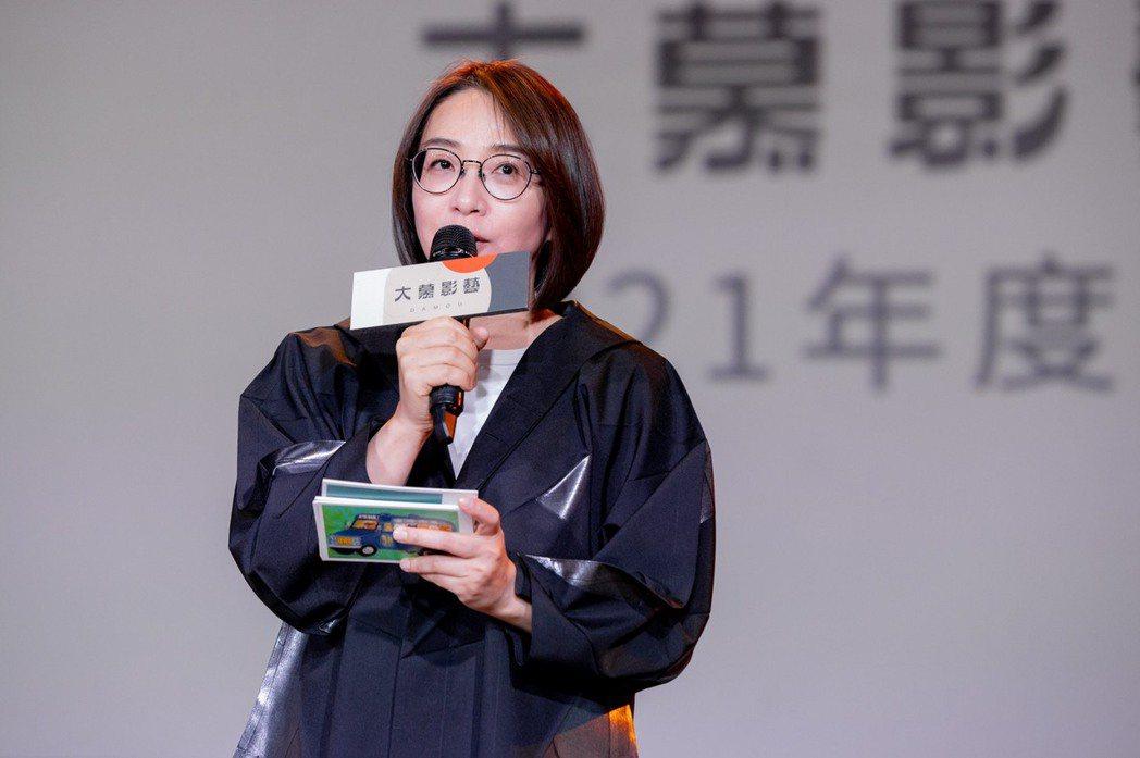 大慕影藝執行長林昱伶宣布公司今年4大影視IP計畫。圖/大慕影藝提供