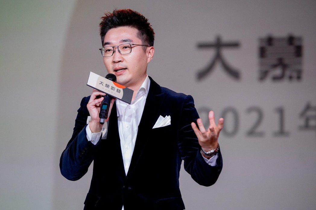 Kakao Page台灣執行長吳明修分享和大慕合作的期許。圖/大慕影藝提供