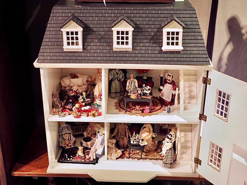 苗可麗的娃娃屋已經是台中的一個景點。圖/摘自臉書