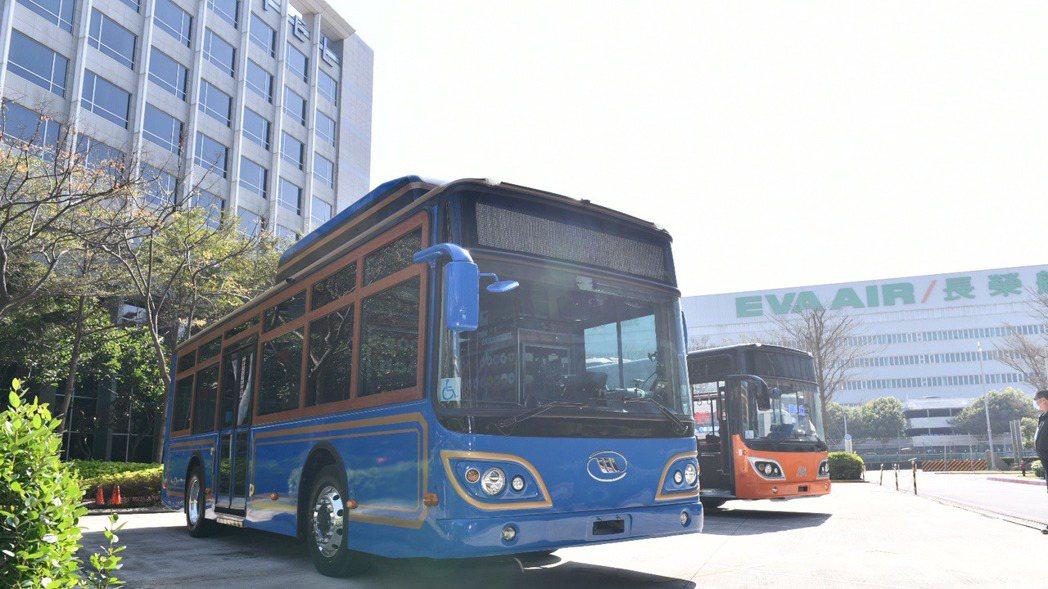 微星車載系統導入成運電動巴士。微星/提供