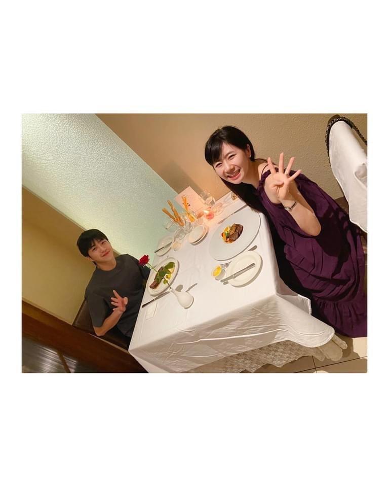 福原愛結婚5年,感情如膠似漆。圖/摘自臉書