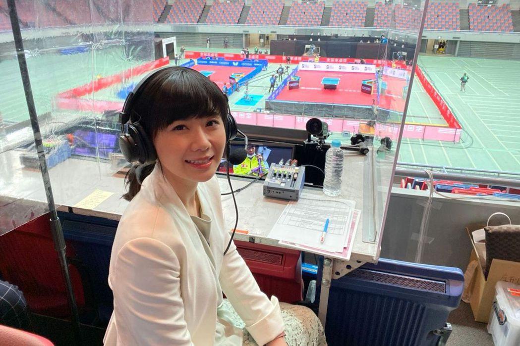 福原愛受邀將為東京奧運擔任球評。圖/華研提供