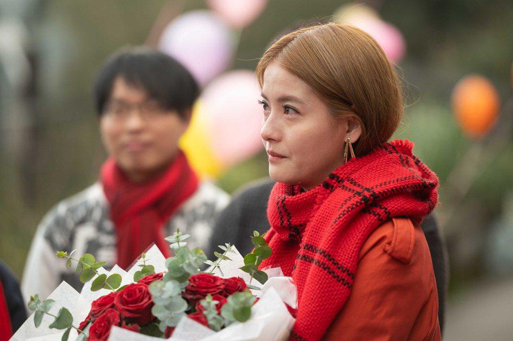 王樂妍被求婚熱淚盈眶。圖/TVBS提供
