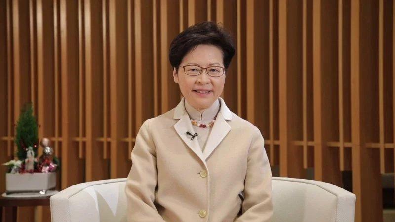 香港特首林鄭月娥。圖/中新社