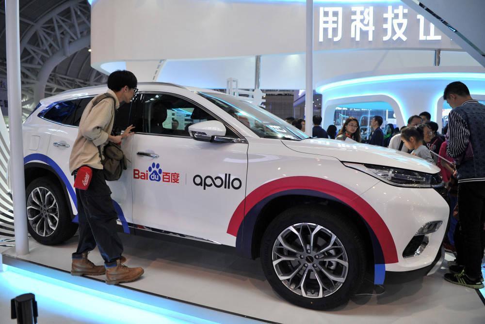 百度與吉利汽車合作,預計三年內推出一款智慧電動汽車。(網路照片)