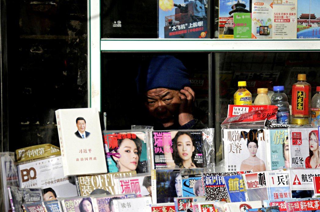 中國官方去年為習近平出版了34本書,平均每10.7天出版一本,頻率十分驚人。圖為...