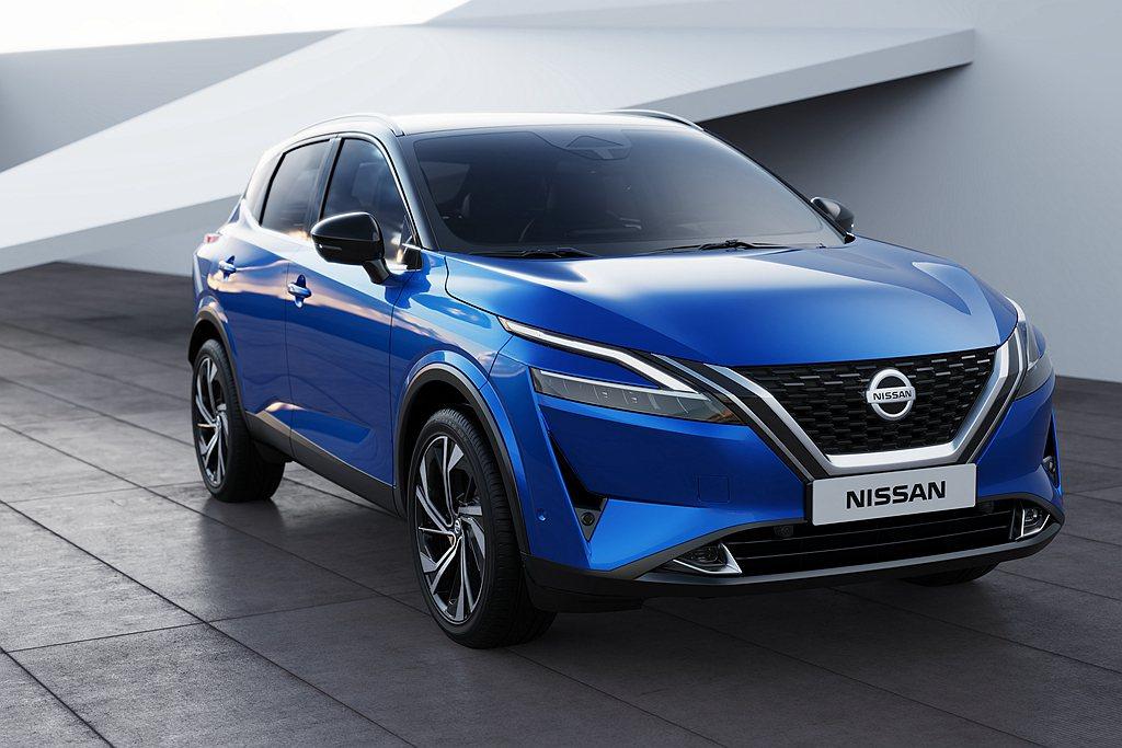 全新第三代Nissan Qashqai跨界休旅正式發表。 圖/Nissan提供