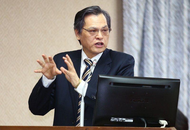 現任陸委會主委陳明通將轉任國安局長。圖/本報系資料照