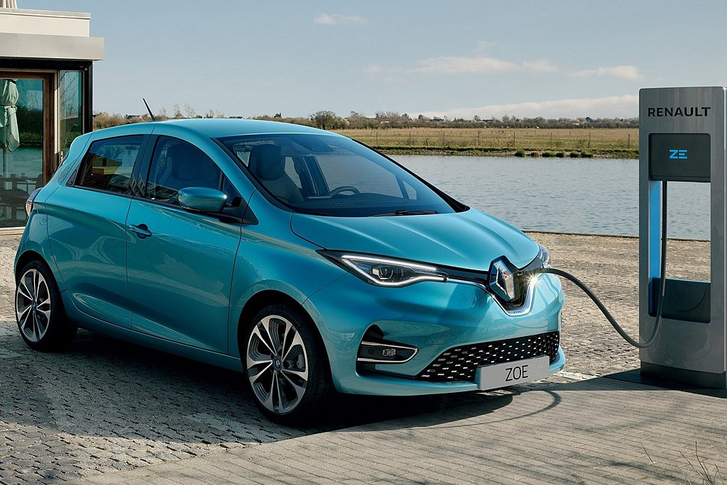 Renault Zoe。 圖/Renault提供
