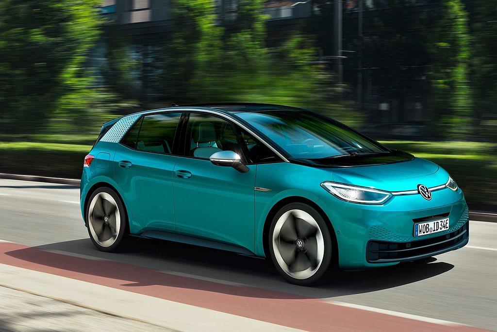 福斯的ID.3平價電動車才自去年下半年才開始交付,但仍舊在短時間內累積5.6萬輛...