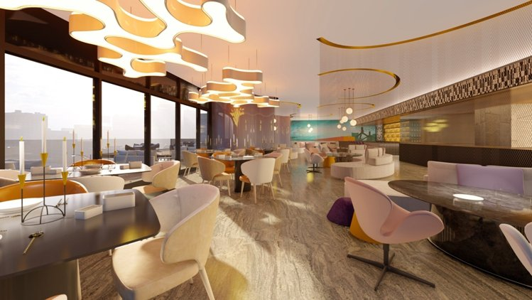 規劃歐風餐酒館,禮遇企業款宴貴賓。 業者/提供