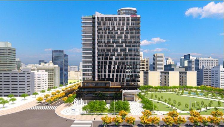中悦ITC豪辦企業總部:青埔站前核心、公園第一排。 業者/提供