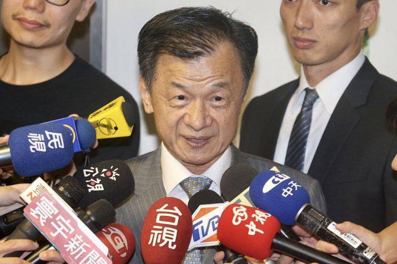 新任陸委會主委邱太三。聯合報系資料照/記者林伯東攝影