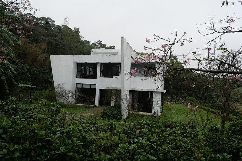 圓山草堂櫻花咖啡館。