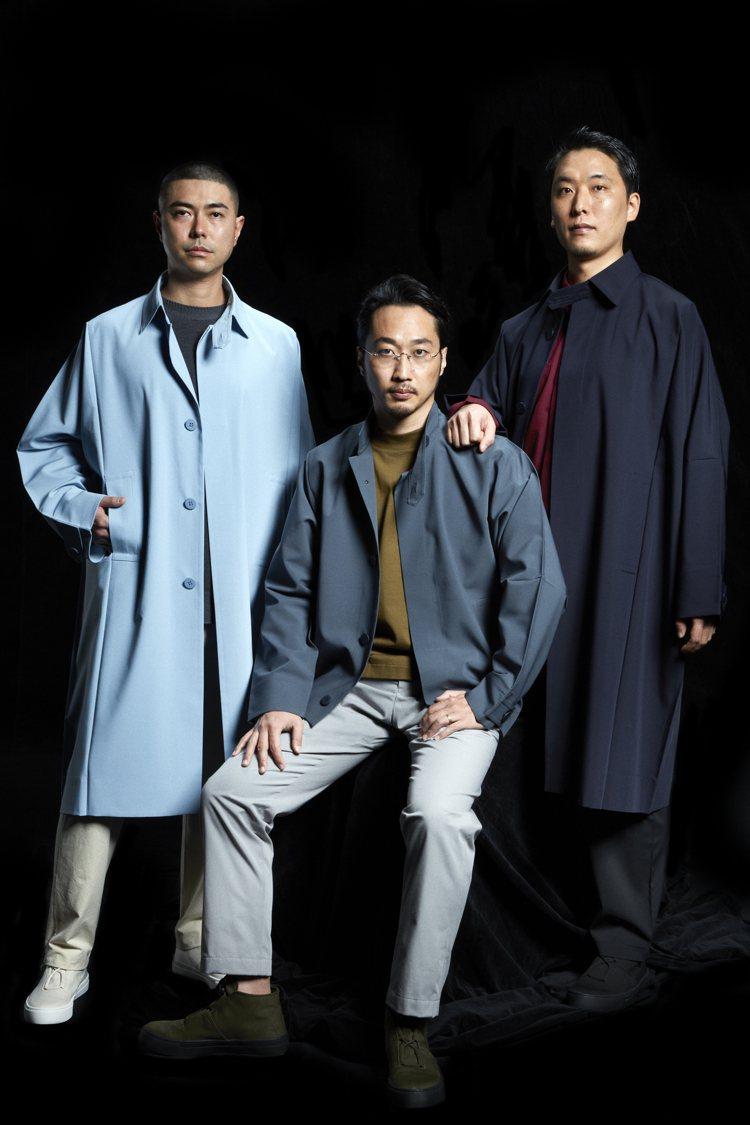 即將問世的全新男裝品牌「IM MEN」釋出由攝影大師操上和美拍攝的形象照。圖/I...