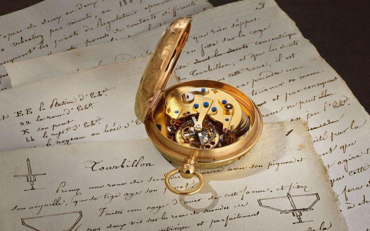 一代製表大師寶璣亞伯拉罕路易寶璣先生,在1801年6月26申請了陀飛輪的專利,為...
