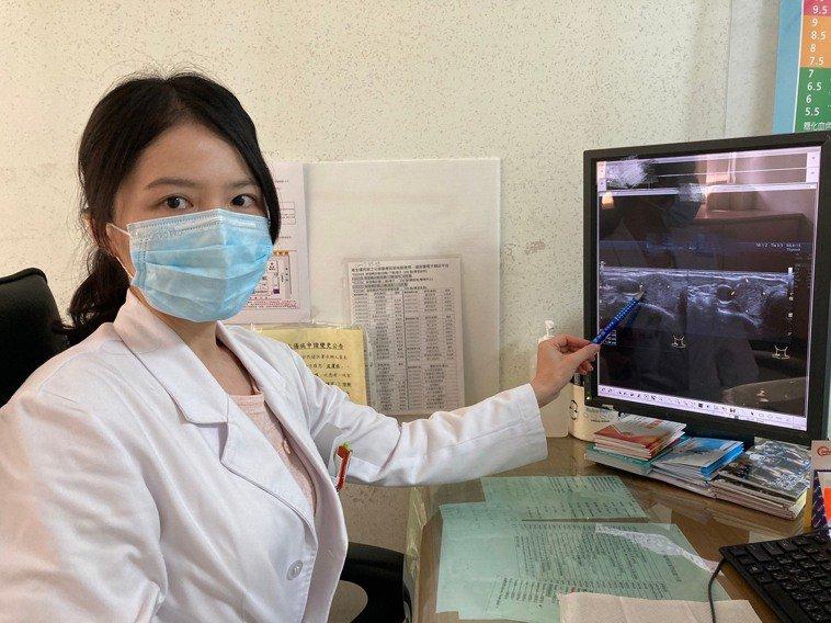 新陳代謝科蔡永新醫師指出發現甲狀腺結節,應就診並追蹤,避免惡化成甲狀腺癌。圖/南...