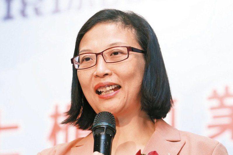 環球晶董事長徐秀蘭。報系資料照