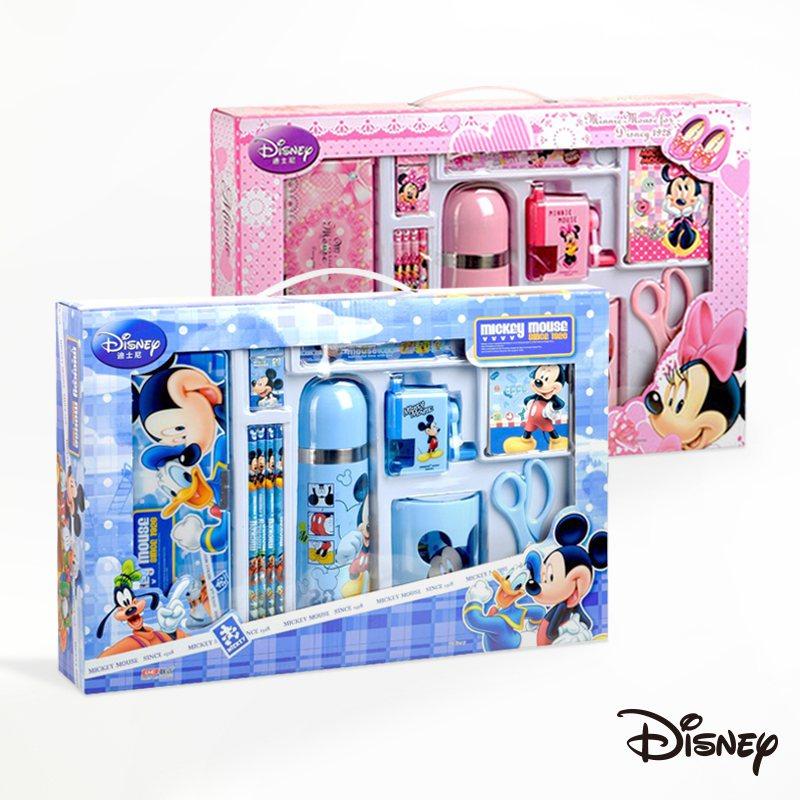 蝦皮購物迪士尼官方文具旗艦店推出「豪華文具禮盒12件組」,活動優惠價799元。圖...