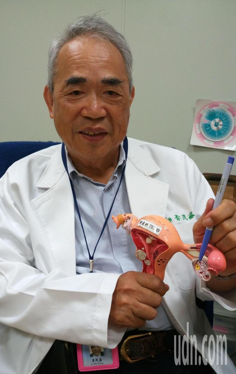 婦產科知名醫師李茂盛說,變性人若無子宮,做試管還是不可能懷孕。記者趙容萱/攝影