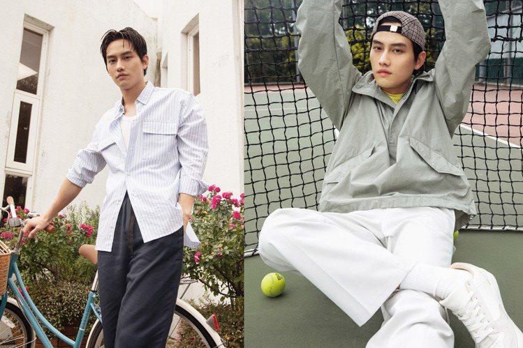 男星范少勳搶先演繹H&M與球星Héctor Bellerín合作的新男裝,讓人眼...