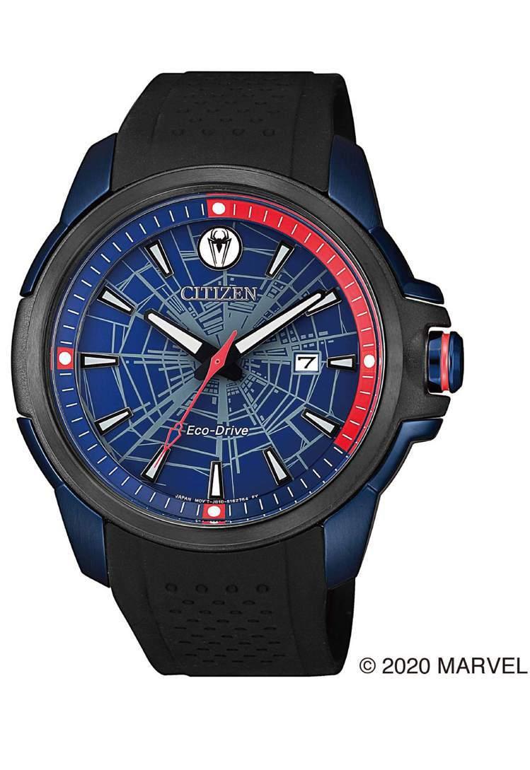 CITIZEN AW1156-01W腕表,鍍黑精鋼表殼11,900元。圖/CIT...