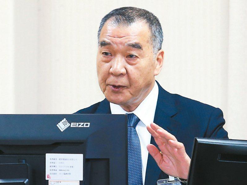 邱國正將接任國防部長。聯合報系資料照