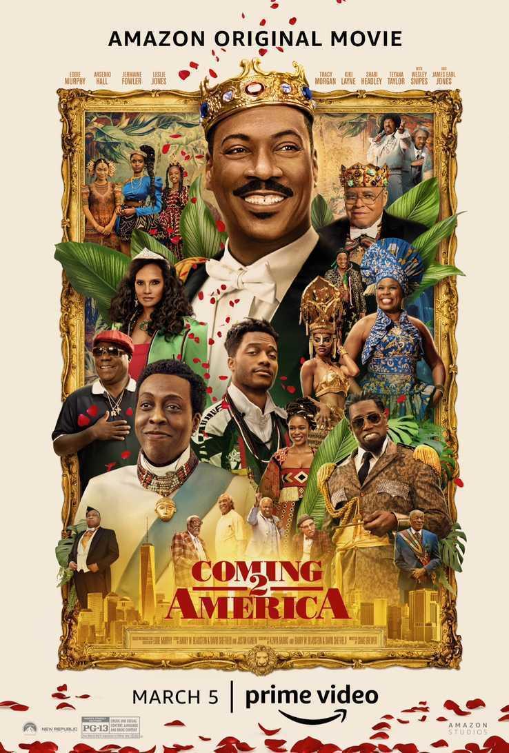 艾迪墨菲(中上)「來去美國2」幾乎原班人馬都回歸。圖/摘自imdb