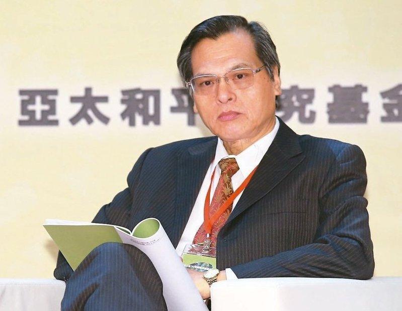 將轉任國安局長的陳明通,將是第一位純粹出身自民進黨系統的局長。圖/聯合報系資料照片