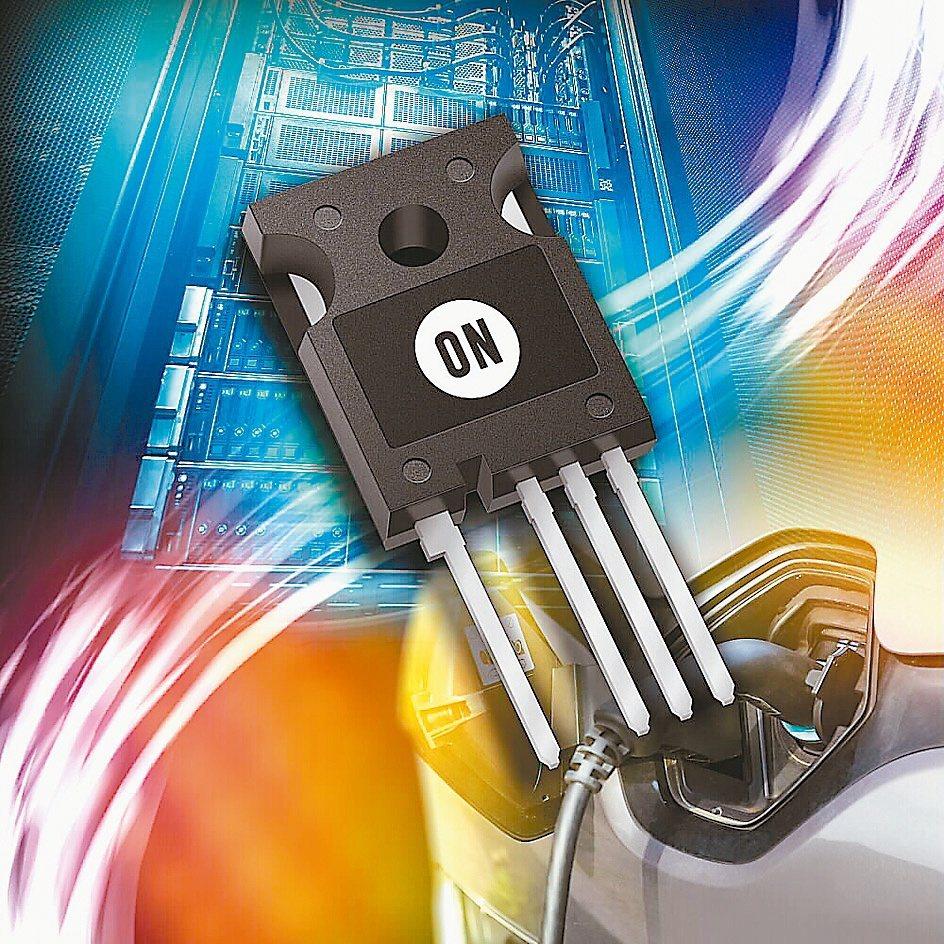新的SiC MOSFET比同等的矽開關技術顯著提高性能。安森美半導體/提供
