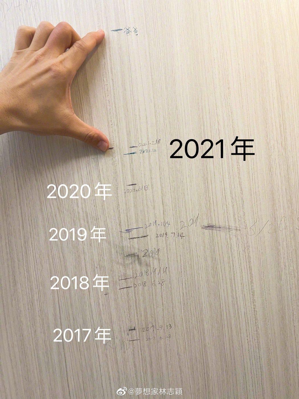 Kimi又長高了。圖/擷自微博