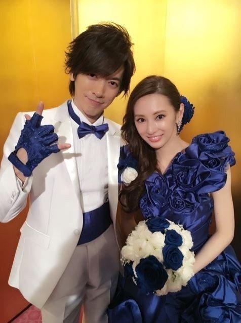 北川景子(右)與大9歲老公DAIGO結婚5年。圖/翻攝DAIGO部落格 王郁惠