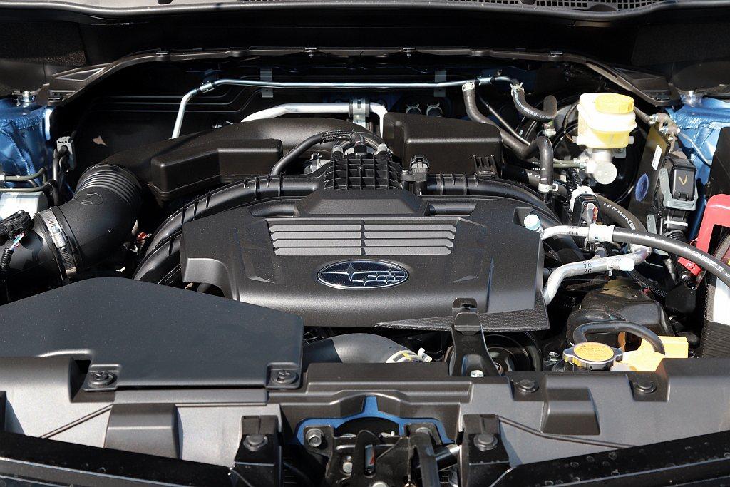 新年式Subaru Forester動力依舊配置2.0L水平對臥自然進氣引擎,具...