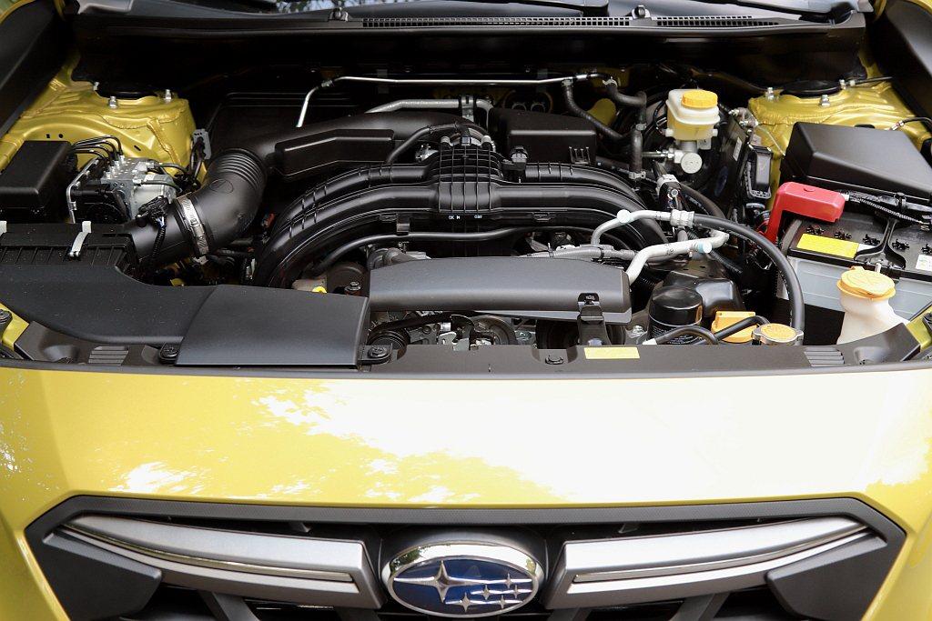 小改款Subaru XV動力來自2.0L水平對臥自然進氣引擎搭配Lineartr...