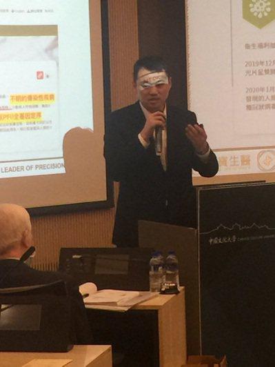 麗寶生醫總經理吳泓泰20日在論壇中形容,能爭取到大陸核酸檢測資格, 「像做房地產...