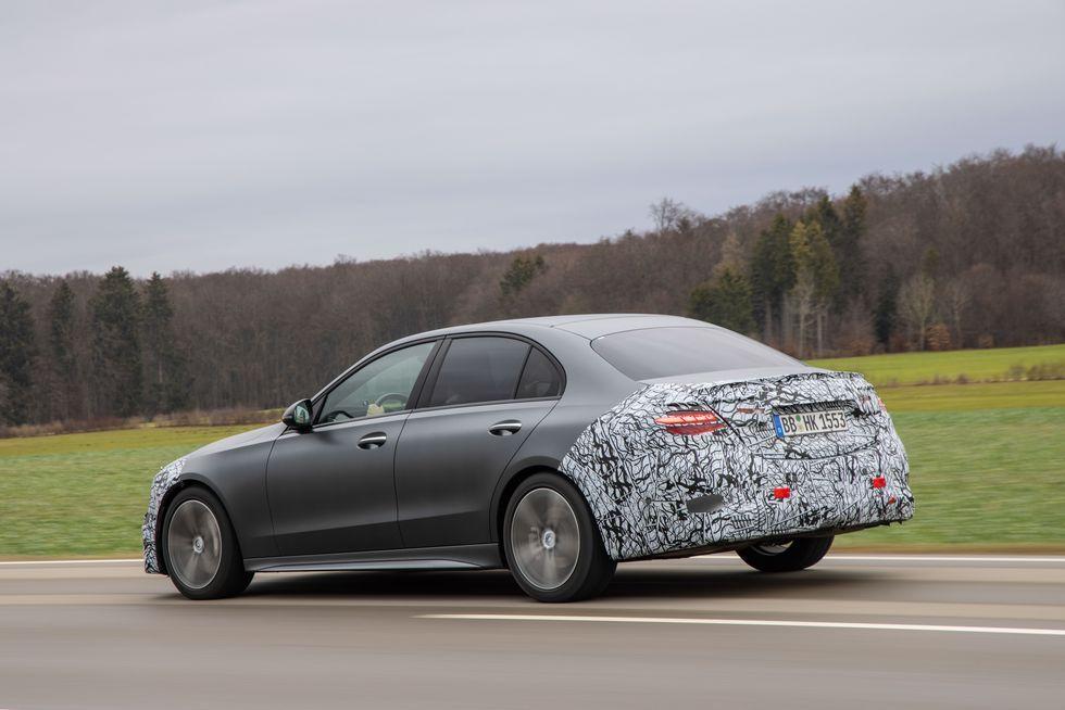 Mercedes-Benz C-Class Prototype。 圖/Merce...