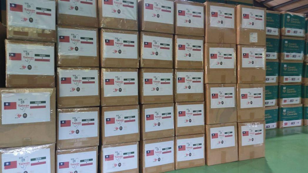 美德醫療攜手台積電慈善基金會捐贈非洲與美洲三友邦多項防疫物資 美德醫療/提供