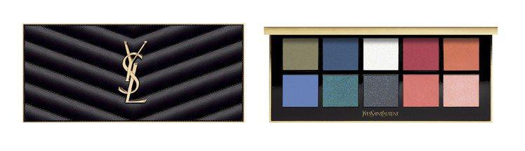YSL訂製奢華皮革彩妝盤(馬拉喀什)/3,600元。圖/YSL提供