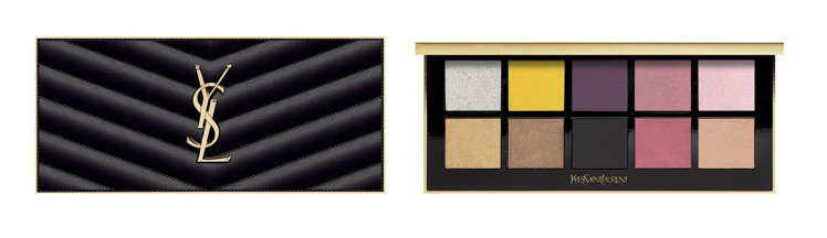 YSL訂製奢華皮革彩妝盤(巴黎)/3,600元。圖/YSL提供