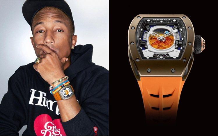 菲董與RICHARD MILLE合作的第一代RM 52-02 Pharrell ...