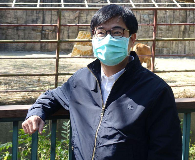 高雄市長陳其邁。記者楊濡嘉/攝影